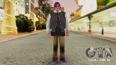 [GTA5] Ballas Member para GTA San Andreas segunda tela