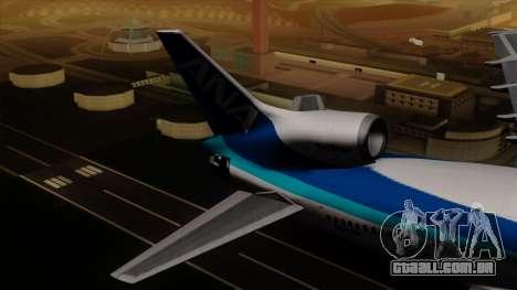 Lockheed L-1011 TriStar All Nippon Airways para GTA San Andreas traseira esquerda vista