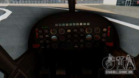 Swift Deluxe para GTA San Andreas vista direita