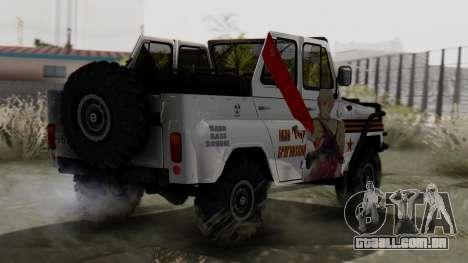 УАЗ 469 Ivan Braginsky para GTA San Andreas esquerda vista