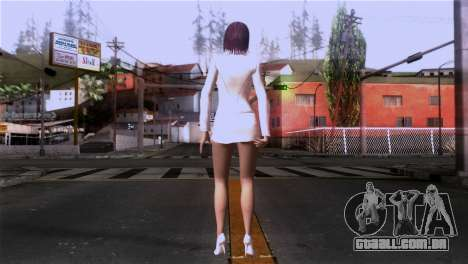 Detalhada pele de meninas para GTA San Andreas terceira tela