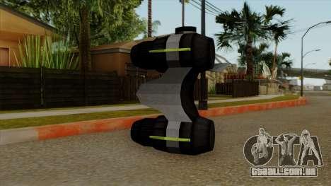 Original HD NV Goggles para GTA San Andreas segunda tela