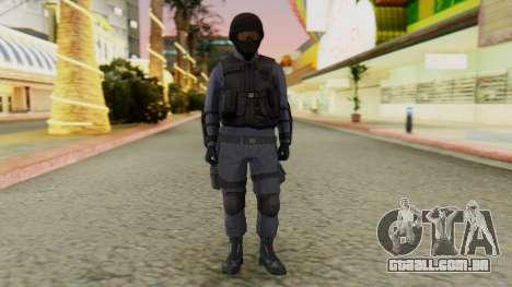 [GTA 5] SWAT para GTA San Andreas segunda tela