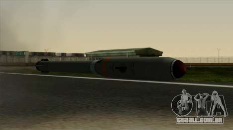 Homing Missile para GTA San Andreas segunda tela