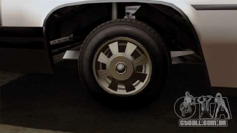 GTA 5 Albany Emperor para GTA San Andreas traseira esquerda vista