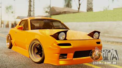 Mazda MX-5 BnSports para GTA San Andreas esquerda vista