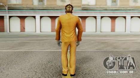 [PayDay2] Dallas para GTA San Andreas terceira tela