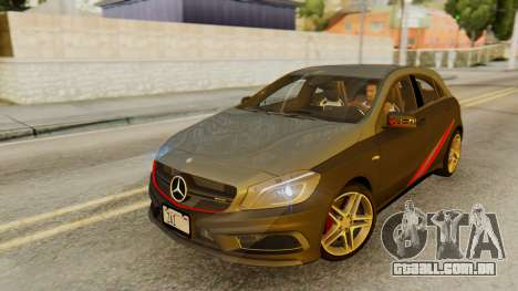 Mercedes-Benz A45 AMG 2012 PJ para o motor de GTA San Andreas