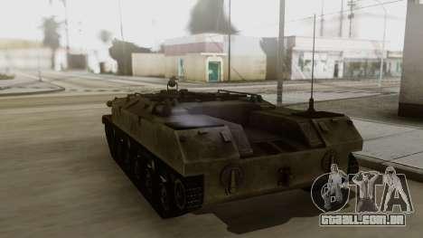 BTR-D para GTA San Andreas esquerda vista