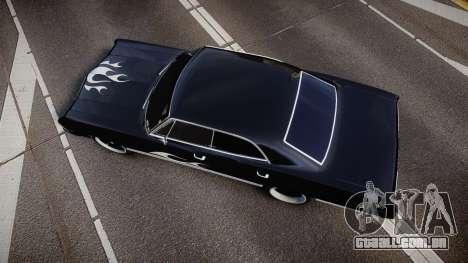 Chevrolet Impala 1967 Custom livery 4 para GTA 4 vista direita