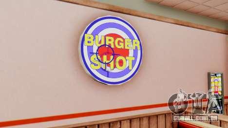 Real de fast food para GTA San Andreas segunda tela