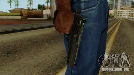 Original HD Desert Eagle para GTA San Andreas terceira tela