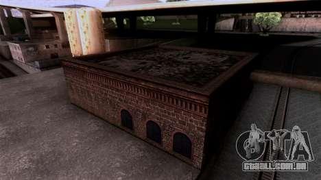 HQ Textures San Fierro Solarin Industries para GTA San Andreas terceira tela