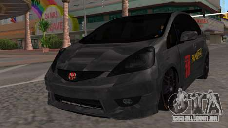 Honda Fit 2009 Faketaxi para GTA San Andreas