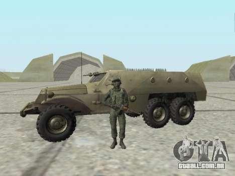 Pak combatentes das tropas especiais de GRU para GTA San Andreas oitavo tela