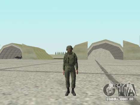 Pak combatentes das tropas especiais de GRU para GTA San Andreas nono tela