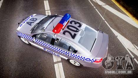 Holden VE Commodore SS Highway Patrol [ELS] para GTA 4 vista direita