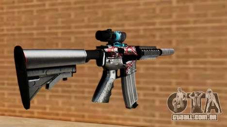M4A1 UASS para GTA San Andreas segunda tela