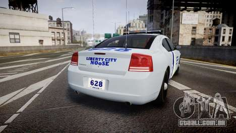 Dodge Charger NOOSE [ELS] para GTA 4 traseira esquerda vista