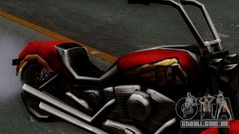 Freeway Avenger para GTA San Andreas vista direita