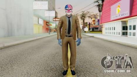 [PayDay2] Dallas para GTA San Andreas segunda tela