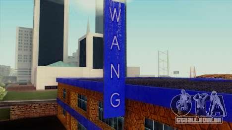 A Wang Cars Showroom para GTA San Andreas terceira tela