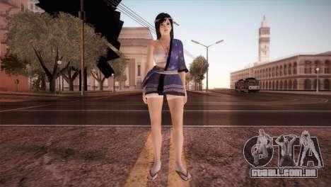 Momiji Kokoro2 DoA para GTA San Andreas segunda tela