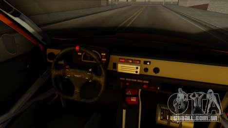 Renault 12 Gordini para GTA San Andreas vista direita