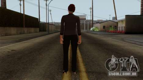 GTA 5 Online Female04 para GTA San Andreas terceira tela