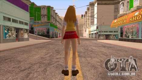 Sonsaku para GTA San Andreas terceira tela