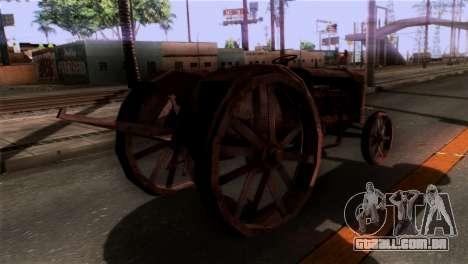 GTA 5 Rusty Tractor para GTA San Andreas esquerda vista