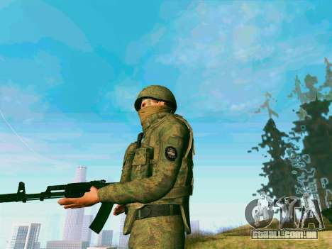 Pak combatentes das tropas especiais de GRU para GTA San Andreas por diante tela