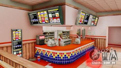 Real de fast food para GTA San Andreas