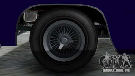 GTA 5 Declasse Voodoo IVF para GTA San Andreas traseira esquerda vista