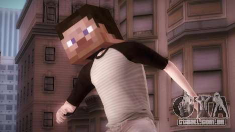 Minecraft Boy para GTA San Andreas