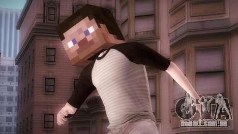 Minecraft Boy para GTA San Andreas