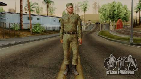 O processo moderno exército russo para GTA San Andreas segunda tela