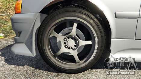 GTA 5 Toyota Chaser 1999 v0.3 traseira direita vista lateral