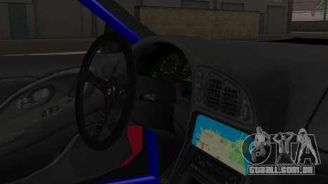 Mitsubishi Eclipse GSX 1999 Mugi Itasha para GTA San Andreas vista direita