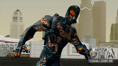 Ant-Man Orange Jacket para GTA San Andreas