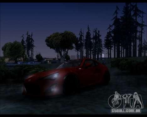 Project 0.1.4 (Medium/High PC) para GTA San Andreas quinto tela