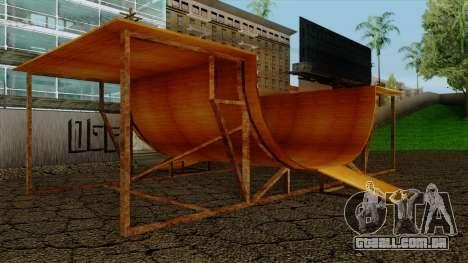 HD Skate Park para GTA San Andreas segunda tela