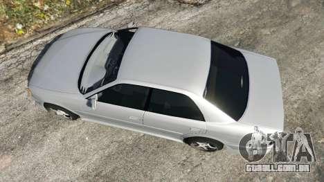 GTA 5 Toyota Chaser 1999 v0.3 voltar vista