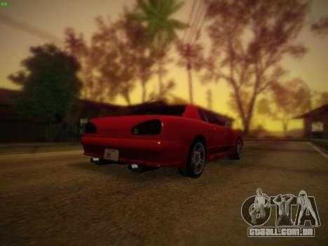 Iceh ENB para GTA San Andreas quinto tela