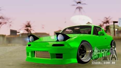 Mazda MX-5 BnSports para GTA San Andreas vista direita