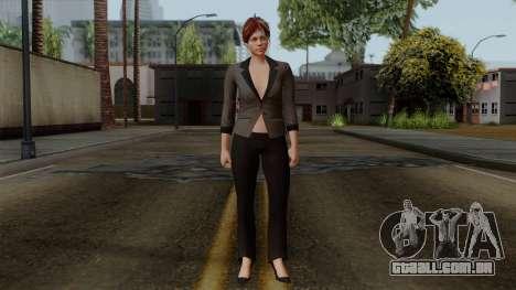 GTA 5 Online Female04 para GTA San Andreas segunda tela
