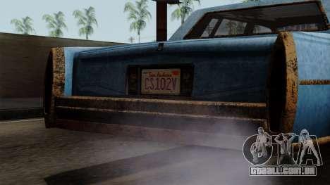 GTA 5 Albany Emperor Worn para GTA San Andreas vista direita