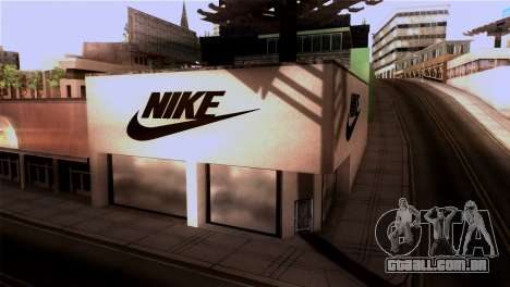 New Shop Nike para GTA San Andreas