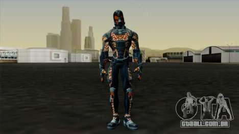 Ant-Man Orange Jacket para GTA San Andreas segunda tela