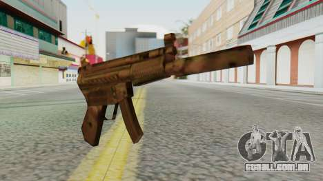 MP5K Silenced SA Style para GTA San Andreas